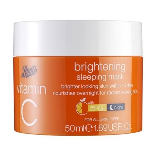Boots Vitamin C Brightening Sleeping Mask